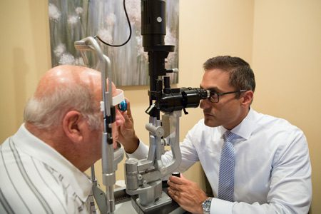 Exam- Retina Ophthalmoloy Gettysburg PA & Frederick MD
